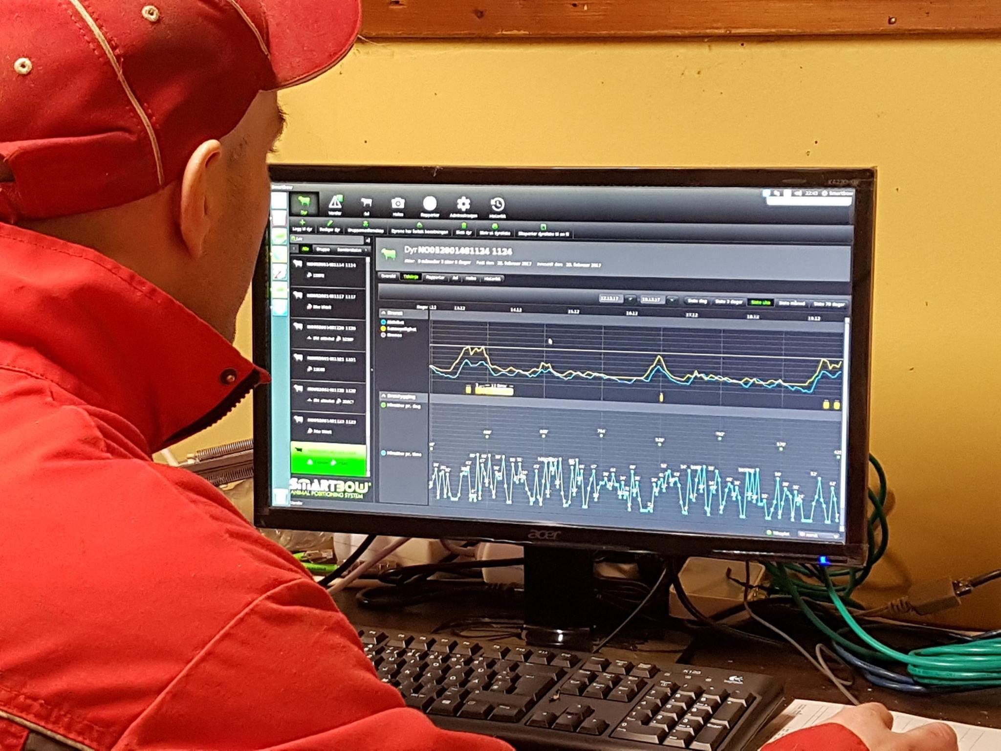 Smartbow på Rudrud i Fåvang Fjøssystemer